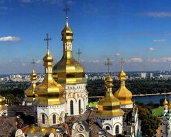 WHAT ARE THE GEOGRAPHICAL COORDINATES OF KIEV ?