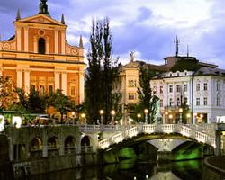 WHAT ARE THE GEOGRAPHICAL COORDINATES OF LJUBLJANA ?