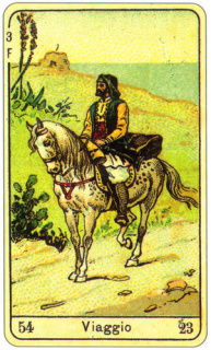 CARD OF VIAGGIO RIGHT AND REVERSE - READING OF THE GYPSY SIBILLE ON LOVE CAREER LUCK FOR FREE ONLINE