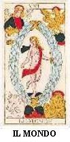 WORLD CARD - RIGHT AND REVERSE - THE BEST FREE ONLINE TAROT CARD READING FOR LOVE CAREER LUCK